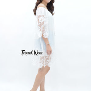 ชุดเดรสสีขาวสวยๆ