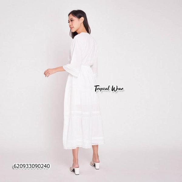 ขายส่งชุดเดรสสีขาว